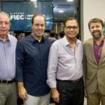 Ricardo Cavalcante, César Ribeiro, Beto Studart E Élcio Batista (3)