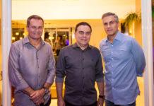 Sérgio Macêdo, Fernando Linhares E Adolfo Bichucher