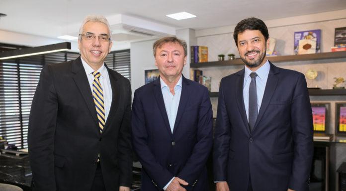 Sérgio Torres, Maurício Filizola E Cleber Martins Sales