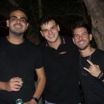Silvestre Coelho, Hebert Farias E Pedro Campos