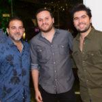 Thiago Borges, Lucas Novais E Itaque Figueiredo