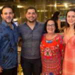 Thiago Borges. Leonardo Freire, Nereide Figueiredo E Adriane Bezerra (2)