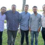 Tiago Barroso, Liberato Barroso, Guilherme, Tiago Barroso E Irineu Guimarães