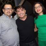 Wagner Mendes, Joaquim Salmito E Flávia Oliveira