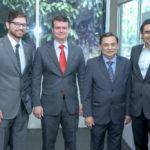 Antonio Colaço,Ariano Ponte ,Cesar Barros Leal E Amaury Gomes (1)