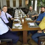 Antonio Tirbutino, Romel Noronha, Paulo Ximenes, Solon Batista E Paulo Linhares