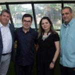Bob Santos, Eduardo Almeida, Fabiana Cartaxo E André Verçosa (1)