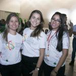 Camila Brito, Evelyn Luna, Edilene Xavier Costa