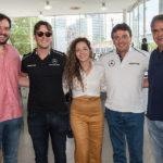 Daniel Carvalho, André Fiuza, Gabriela Teixeira, Luiz Teixeira E João Carvalho