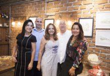Daniele, Andre, Beth, Domingos Linheiro E Cristina Linheiro