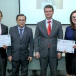 Djalma Pinto, Cesar Barros Leal,Ariano Ponte E Denise Cavalcante (3)