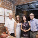 Domingos Linheiro, Beth, Claudia E Paulo Alcantara