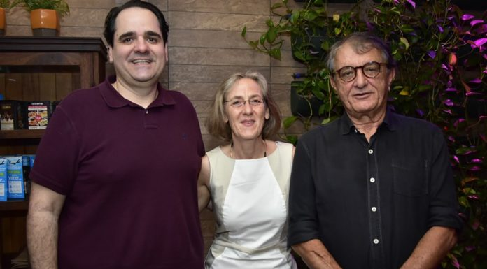 Eduardo Bernardes, Sabine Trenk E Arialdo Pinho