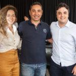 Gabriela Teixeira, Ronaldo Munhoz E Michele Abatemarco