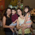 Gisele , Felipe, Geovana Devito E Isabel Ramos