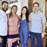 Jacob Mendes, Camila Ximenes, Amélia E Mário Maia
