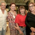 Marçal Barros, Paula Frota, Carmen Cinira E Lucia Wolf