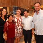 Margarida Alves, Aurenice Araujo, Paula Frota, Pompeu Vasconcelos E Adriano Nogueira (1)