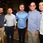 Neudo Claro, Alex Saraiva, Vitor Frota, Walter Ary E Romulo Santos