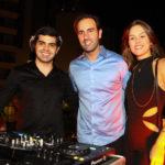 Pedro Garcia,Vitor Frota E Daniela Eloy