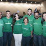 Roberto Cartaxo, Marcos Pontes, Isabel Mota, Lucia Mota, Helder Monteiro, Nixon Soares E Daniela Ribeiro