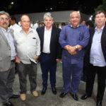Roberto Sergio,Guilherme Guimaraes, Heitor Studart Pedro Alfredo E Vitor Studart