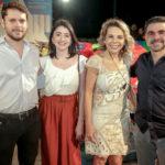 Victor Pelingeiro, Larissa Faco, Lilian Porto E Isaac Furtado (1)