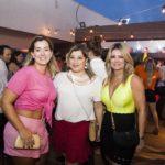 Andrea Vieira, Manuh Romcy E Tatiana Luna