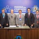 Antônio Henrique, Luis Claudio,Cid Marconi, Ricardo Lewandowski, Salmito Filho, Bruno Dantas, Edilberto Pontes E Roberto Claudi