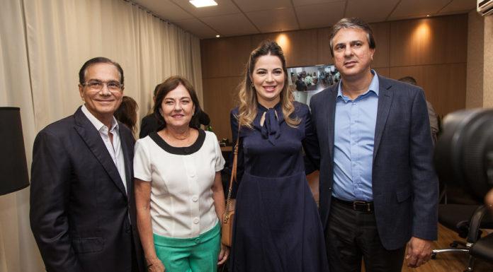 Beto E Ana Studart, Onélia Leite E Camilo Santana