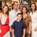 Cristiana Carneiro, Marcelo Miranda, Cristina Miranda, Adriana MIranda E Maria Carolina Carvalho_