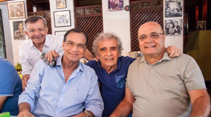 Edilmo Cunha, Beto Studart, Lúcio Brasileiro E Fernando Sirino
