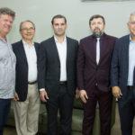 Evandro Colares, Afro Lourenço, Abelardo Rocha E Élcio Batista E Paulo César Norões (4)