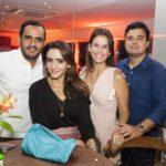 Fernando Barbosa, Camila Barbosa, Isabela Valença E Nelson Valença