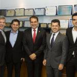 Ferrucio Feitosa, Pompeu Vasconcelos, Salmito Filho, Erick Vasconcelos E Rodrigo Nogueira (1)