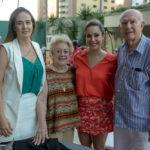 Gisele Siqueira Campos, Vera De Castro, Silvinha Leal E Silvio De Castro (1)
