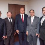Igor Queiroz, Valmir Ferreira, Rafael Leal, Beto Studart E Edson Queiroz Neto