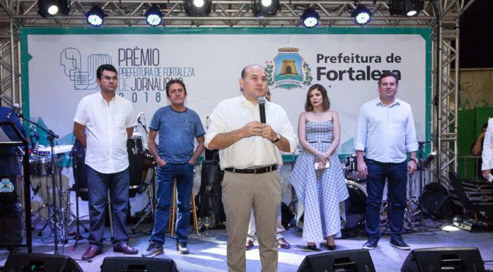 Iraguaçu Filho, Adail Junior, Roberto Cláudio, Carol Bezerra E Samuel Dias_