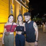 Laura Holanda, Rayane Fortes E Claudio Mendes
