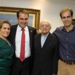 Maria José Salmito, Salmito Filho, Salmito Neto E Idelfonso Salmito (1)