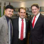 Michel Lins, Salmito Filho E Cid Gomes (2)