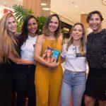Nina Gruska, Amanda Maia, Paula Castelo, Mirella Freire E Charlene Monteiro