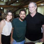 Raquel Neiva E Kleiver Barros E Ciro Gomes