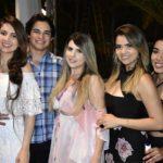 Vanessa Ferreira, Joaquim Francisco, Mayara Duarte, Barbara Lopes E Thaita Lima