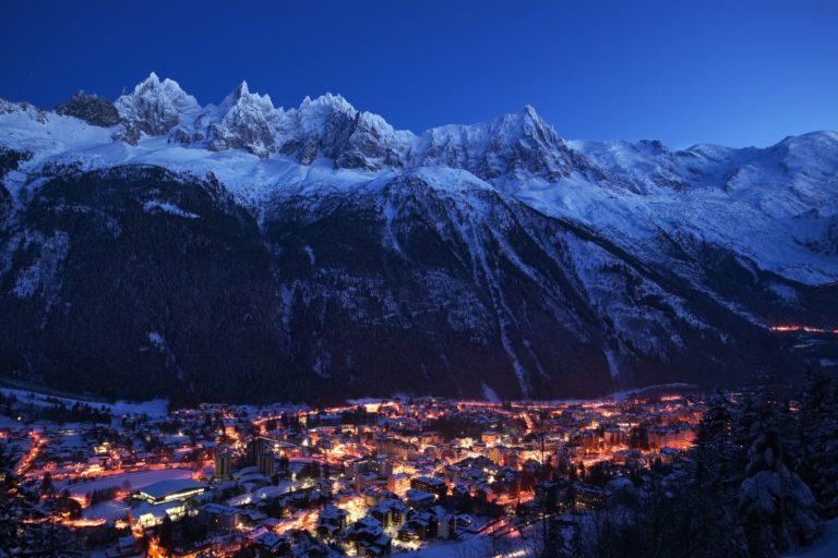 O requinte dos Alpes Franceses no inverno