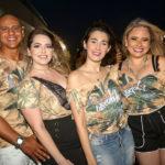 Diego Santana, Milena Leiria, Lana Santiago E Mayara Lourenço