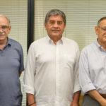 Ednilton Soarez, Sampaio Filho, Fred Saboia