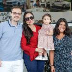 Felipe, Ivania, Larissa E Geovana Cavalli_