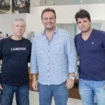Tarrega Gomes, Adriano Nogueira E Newton Basto_