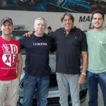 Vitor Vidal, Tarrega Gomes, Jorge Carvalhon E Eduardo Breno